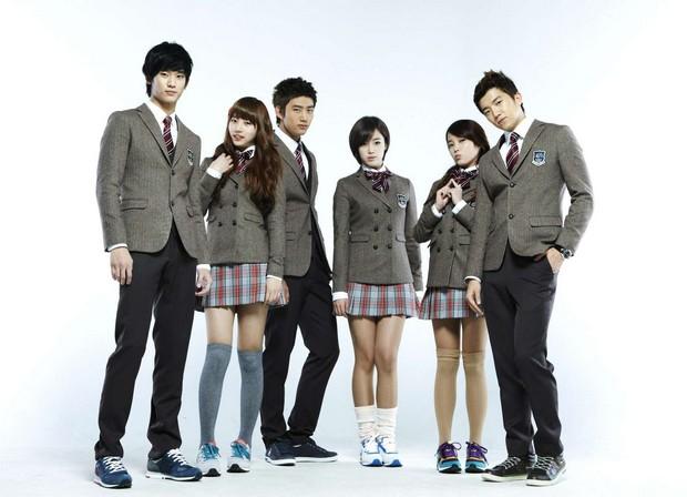 Blazer seragam sekolah korea