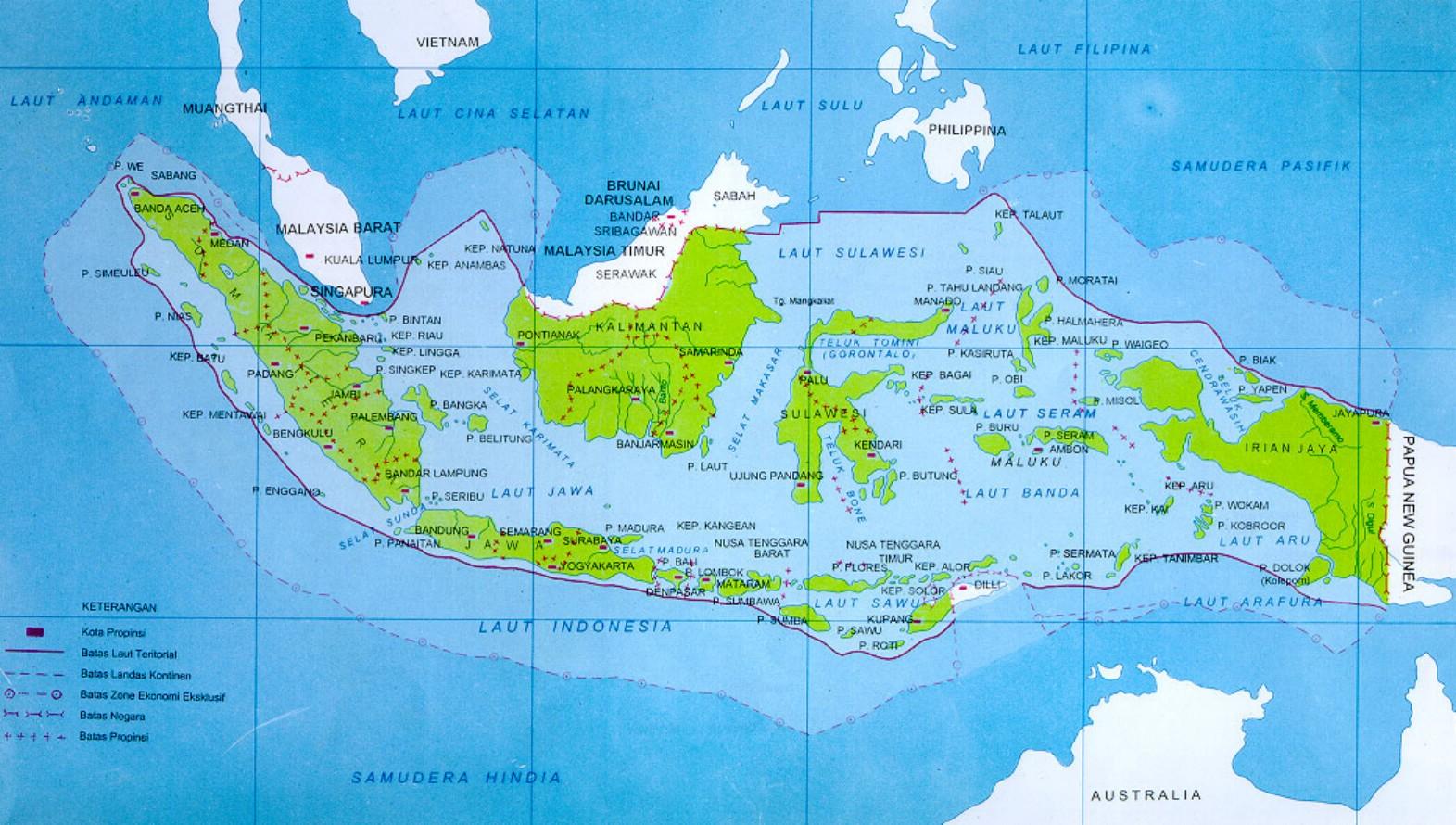 Indonesia Kaos Murah Bandung Gambar Peta Polos