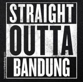 Straight Outta Bandung meme