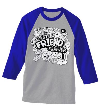 FRIEND FOREVER doodle