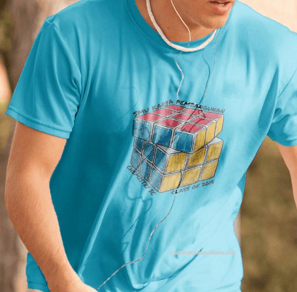 Contoh Desain Kaos Kelas Keren Dan Unik Untuk Acara Sekolah