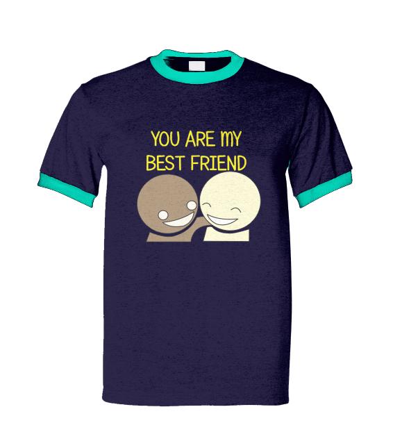 kaos persahabatan lucu