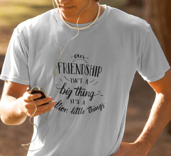 typography persahabtan