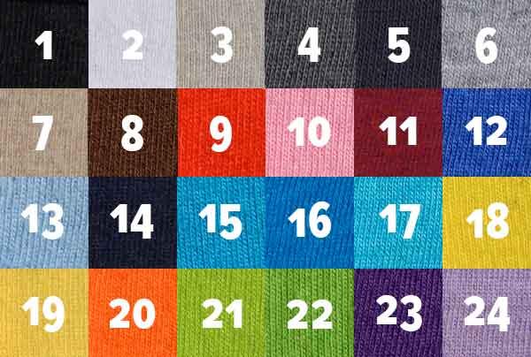katalog warna kaos polos 30s