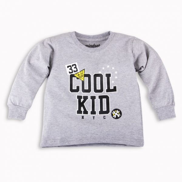 Kaos Anak Panjang Cool Kid